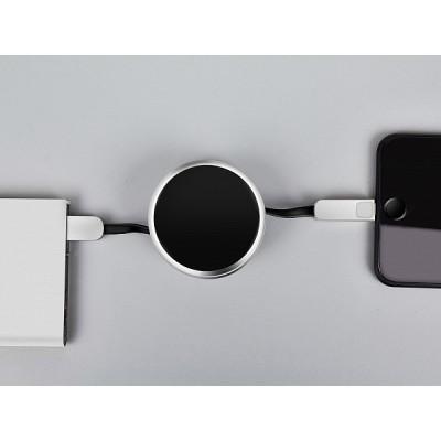 Кабель-рулетка LEXAND Roll-C Type-C+micro USB (Черный)