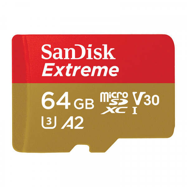 Карта памяти SanDisk MicroSDXC 64GB UHS-3 W/A SDSQXA2-064G-GN6AA