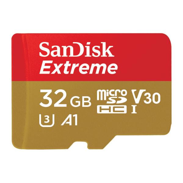 Карта памяти SanDisk MicroSDHC 32GB UHS-I W/A SDSQXAF-032G-GN6AA цена
