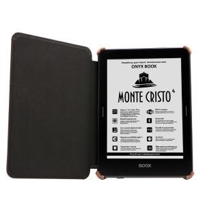 Чехол-обложка для ONYX BOOX Monte Cristo, Robinson Crusoe, Viking (Коричневый)