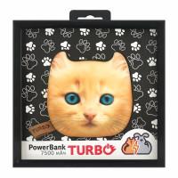 Внешний аккумулятор Turbo PowerBank (кошка)