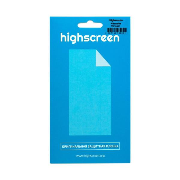 Защитная пленка для Highscreen Pure F