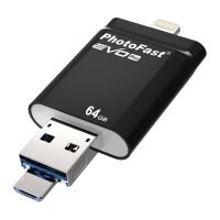 Флеш-накопитель PhotoFast i-FlashDrive EVO Plus 64Gb
