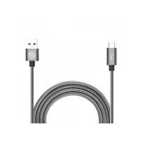 Кабель Nillkin Elite cable(USB 3.0-Type C) 1.2 m/3A Grey (серый)
