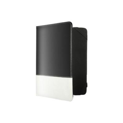 """Чехол Nobby Comfort CT-001 для планшетов 8"""" PU (Черный, белая полоса)"""