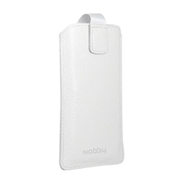 Сумка Nobby Comfort WM-001 для телефонов XL кожа (Белый)