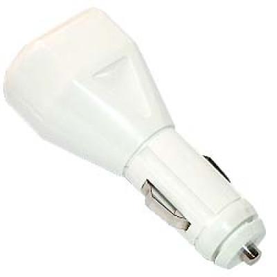 Pocket Nature Автомобильное зарядное устройство - эмулятор питания USB-порта 1А (Белый)