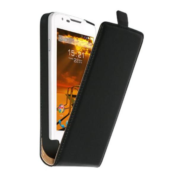 Чехол флип-кейс Nobby Comfort FC-001 для FLY IQ4505 (Черный) цена и фото