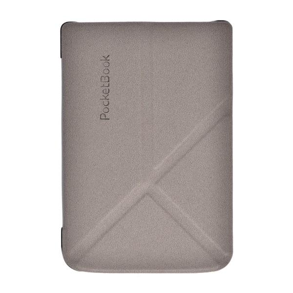 цена Чехол для PocketBook 616/627/632 трансформер серый (PBC-627-DGST-RU) онлайн в 2017 году