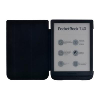 Чехол-обложка для PocketBook 740 (Серый)