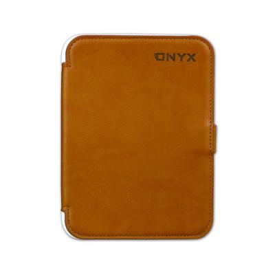 Pocket Nature чехол стандартный нового поколения для Onyx BOOX i62 (коричневый с белым)