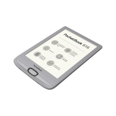 Электронная книга PocketBook 616 (Matte Silver)
