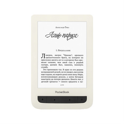 Электронная книга PocketBook 625 Basic Touch 2 (Бежевый)