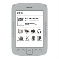 Электронная книга Digma T635 (Серебристая)