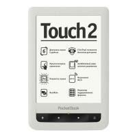 Электронная книга PocketBook Touch 2 (Белая)