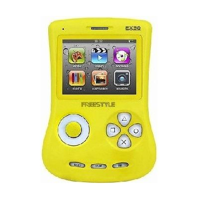 Игровая приставка EXEQ Freestyle (Желтая)