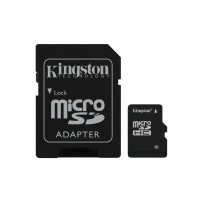 Карты памяти Kingston MicroSD 16GB Class 10  UHS-I  45 MB/s без адаптера