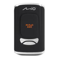 Автомобильный радар-детектор Mio MiRaD 800