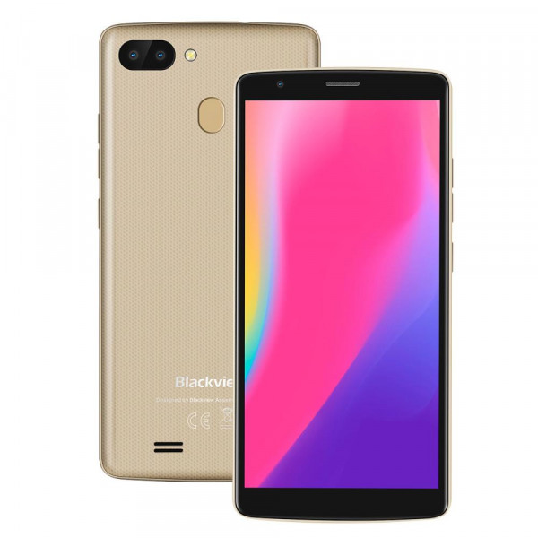 Смартфон Blackview A20 Pro (Золотой)