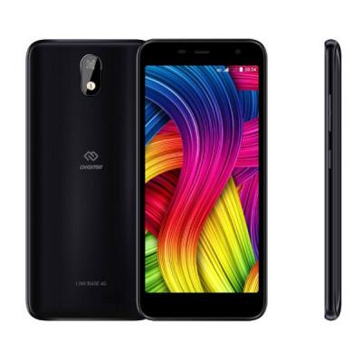 Смартфон Digma LINX BASE 4G (Черный)