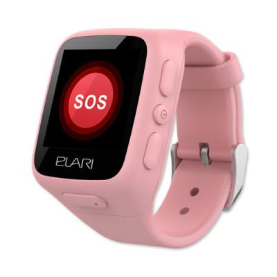 Детские часы-телефон Elari KidPhone (Розовые)
