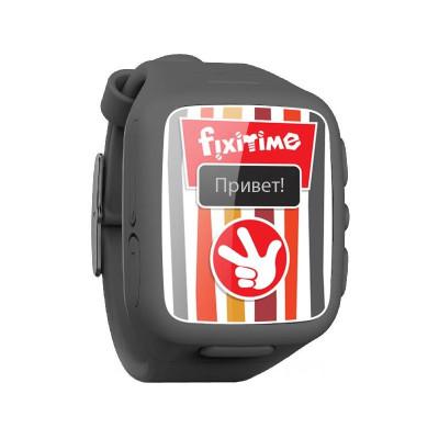 Детские часы-телефон Elari Fixitime (Черный)