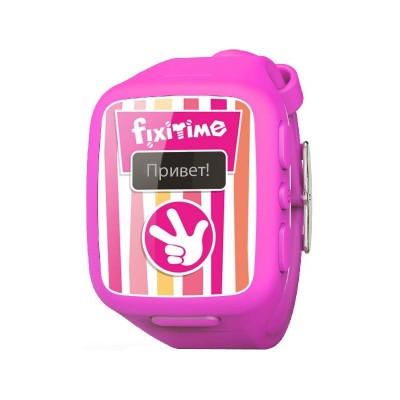 Детские часы-телефон Elari Fixitime (Розовый)