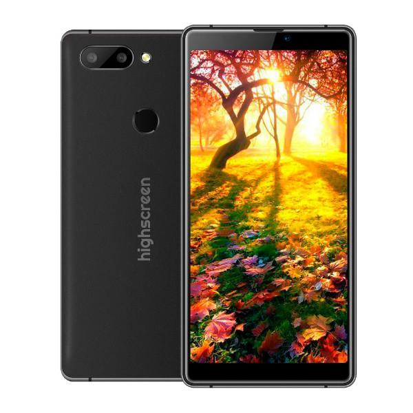 Смартфон Highscreen Max 3 4/64GB (Черный) смартфон honor 9 4 64gb черный