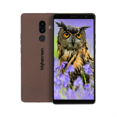 Смартфон Highscreen Power Five Max 2 3/32GB (Коричневый)