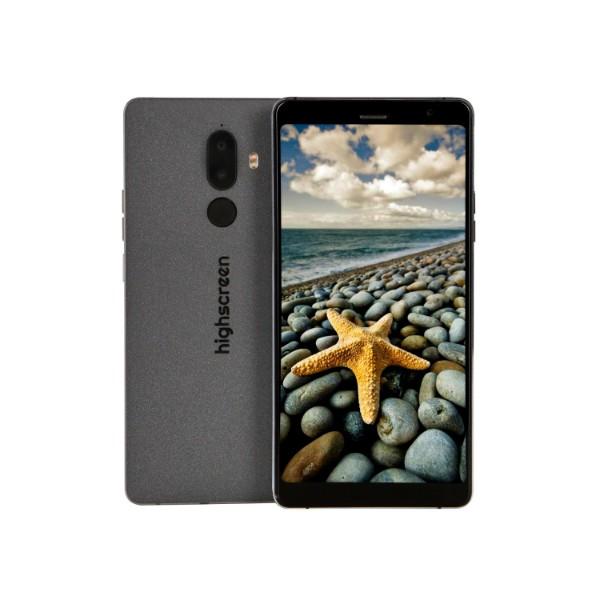 Смартфон Highscreen Power Five Max 2 4/64GB (Черный) ориг чехол flip case для highscreen power five белый