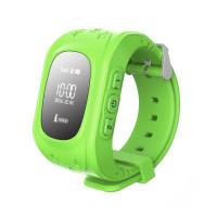 Детские часы-телефон с GPS-трекером Кнопка жизни K911 (Зеленые)