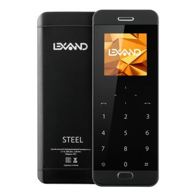 Телефон LEXAND BT1 Steel (Черный)