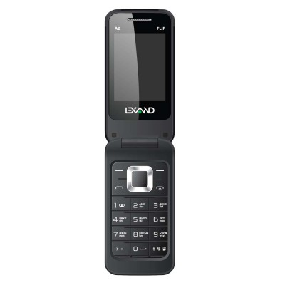 Мобильный телефон LEXAND A2 Flip (Черный)