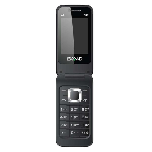 Мобильный телефон LEXAND A2 Flip (Черный) lexand a2 flip white