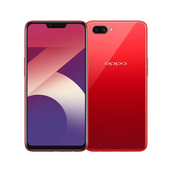 Смартфон OPPO A3s (Red) накладка oppo easy cover for oppo a3s black