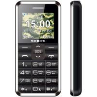 Мобильный телефон teXet TM-101 (Черный)