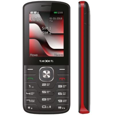 Мобильный телефон teXet TM-D329 (Черно-Красный)