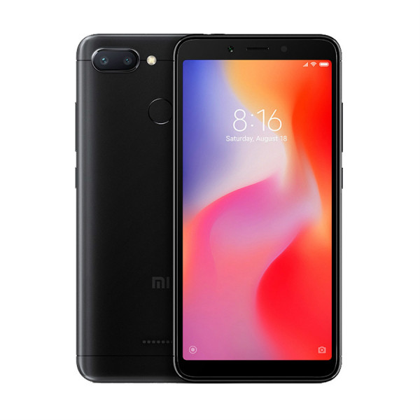 Купить Смартфон Xiaomi Redmi 6 3/32GB (Черный)