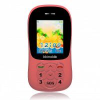 Детский мобильный телефон BB-mobile GPS Маячок II (Розовый)