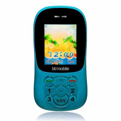 Детский мобильный телефон BB-mobile GPS Маячок II (Голубой)