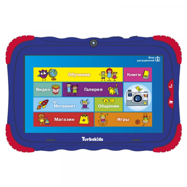 Купить Детский планшет TurboKids S5 (16 Гб) (Синий)