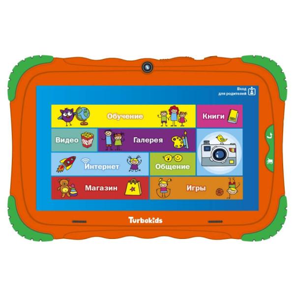 Купить Детский планшет TurboKids S5 (16 Гб) (Оранжевый)